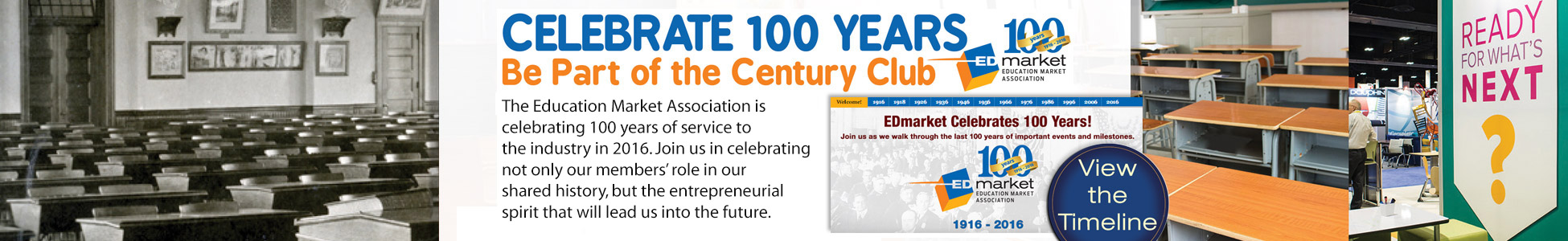 Be a Part of EDmarket's 100th Anniversary Century Club